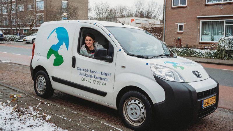 Uw mobiele dierenarts - Dierenarts Noord Holland komt bij u thuis